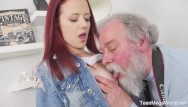 Shooting sperm Old-n-young.com -tiffani love- old man shoots hottie in sperm