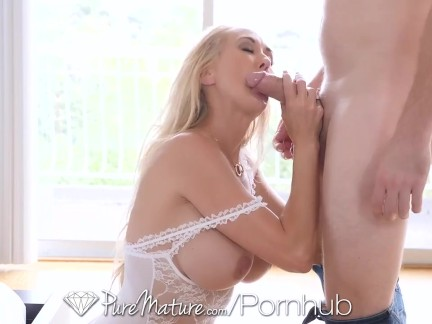 Big Tits Blonde Blowjob HD Mature MILF Vaginal Sex