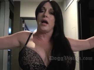 The Swinger Experience Presents nice ass 50y huge boobs gilf you're hitting my cervix