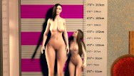 Penis size comparision - Big boob lesbian giantess breast expansion - tall vs small comparison