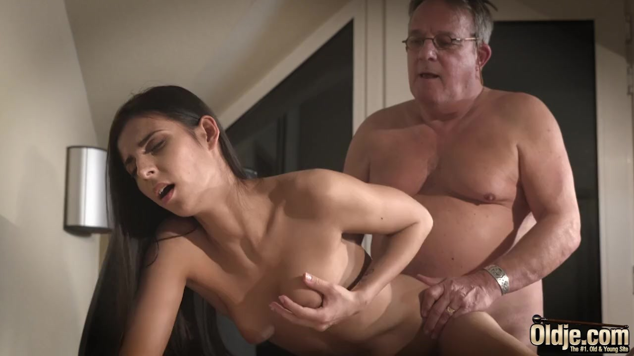 Old Man Fucks Big Tit Teen