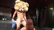 Group suck off free Dancing bear - big dick male strippers getting sucked off by horny women