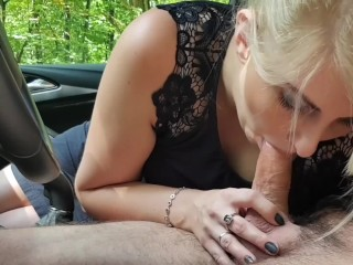 Cum in my mouth has a forest car park