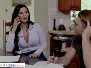 Naughty America - Jasmine Jae gets hard fucked by her son's friend