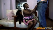 2 africans fuck - African bubble butt gets fucked hard