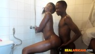African girl fucked in ass Sexy african girl fucked in the shower