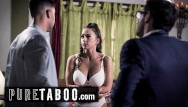 Christian peer pressure teen - Struggling actress abigail mac pressured into 3-way at casting-pure taboo