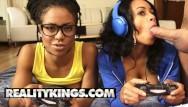 Interracial erotic joy of africa Reality kings - ebony gamer girls anya ivy kira noir play with white joy