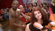 Black stripper party video Dancing bear - wild cfnm orgy with big dick male strippers slingin cock