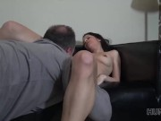 hunt4k. hunter pickups cute chick and pounds her in front of her bf