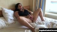 Big beautiful woman blow jobs - Big beautiful woman angelina castro masturbates as virgo peridot blows bbc