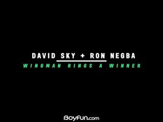 boyfun – david sky licks and fuck bareback drills twink ron negba