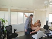 loan4k. loan manager perform raunchy casting for sexy girl in