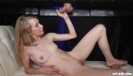 Cute teen girl - Cute teen girl kristy enters the mylking table zone