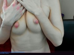 Wrecking My Cooter And Puffies For Some Random Boy On Chaturbate For Tokens!