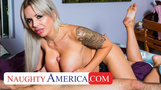 naughty america nina elleplays with her sons big cocked hot friend