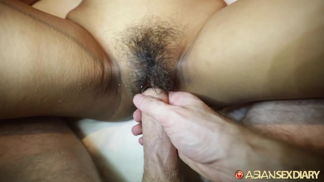 ASIANSEXDIARY Asian Babe Fucked Doggystyle With Dripping Creampie