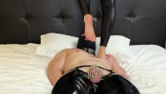 Trample buffaloes femdom Femdom foot trampling little foot princess