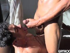 REAL metro italian dude gets his asshole stretched by HUGE DONK! bbc!