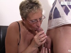 Amateureuro - Big-titted German Milf Pounded Firm Through Her Step-nephew