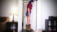 Uncastrated blowjobs Castrated under cowgirl boots