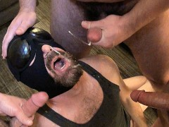 anonymous loads! group cum eating - fit stud, bear, otter + seth chase