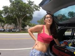 Roadside - Spiritual Teenager Fucks To Get Her Car Fixed