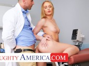 naughty america - daisy stone needs her tight pussy checked by the doc