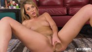 Xxx milk - Blonde adira allure milking with a big dildo