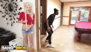 Takingoff xxx jeans Bangbros - young, skinny white girl elsa jean taking bbc from burglar