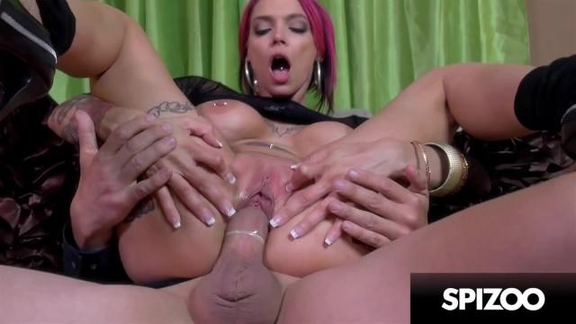 Hot Tattooed Stripper Anna Bell Fucks a Huge Cock - The Stripper Experience