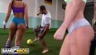 Greater thumb east football - Bangbros - young big booty white girls playing with balls for fun