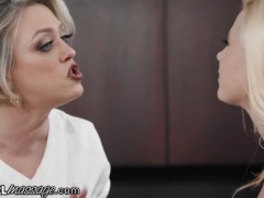Lesbian Step-daughters Massage Milf-mommy- Allgirlmassage