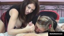 Cock Sucking Cougar Charlee Chase & Taylor Raz Love A Hard Dick!v