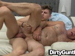 Premature Ejaculation in Gunther's Old Mouth