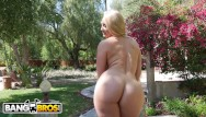 Hot girls getting ther ass drilled - Bangbros - perfect 10 big booty white girl aj applegate getting banged
