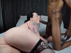 Bbw Harmony reigns is back n better then ever taking hot bbc