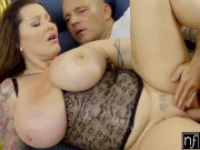 nf busty - frisky photoshoot with big tit milf s8:e12