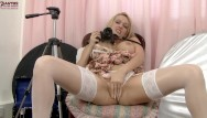 Uk adult homemademovies Cute uk milf amber jayne gets dirty with a camera