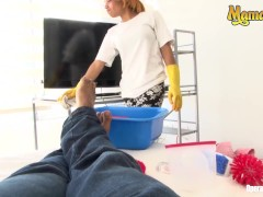 Mamacitaz - Fledgling Colombian Maid Lured And Porked By Naughty Client