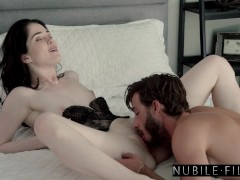 nubilefilms - luring boyfriend back to bed with evelyn claire s33:e6