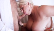 Busty old sluts - Agedlove busty mature providing blowjob