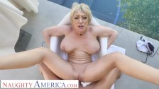 naughty america - dee williams releases some stress by drilling you
