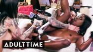Prep asshole Ana foxxx toys herself to prep for insane dicking-adult time