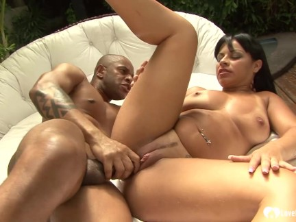 Latina get handjob and after it she get fucked