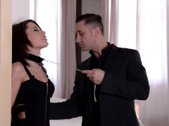 Xxl Jizz-shotguns Tucked Nutsack Deep Into Enslaved Nikita Bellucci's Asshole