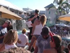wet whores pool twat flash contest uncensored