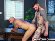Fisting The Office Slut - FistingCentral
