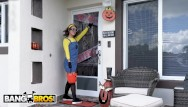 Cheap quick adult halloween costumes Bangbros - evelin stone gets to suck on a big popsicle this halloween