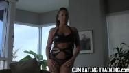 Lesbian ttraining videos Cum eating fetish and pov femdom videos